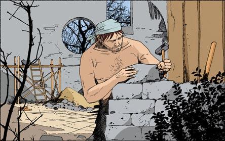 François d'Assise maçon