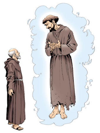 Francis of Assisi and Brother Rufin